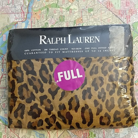 Ralph Lauren Aragon Full Fitted NIP